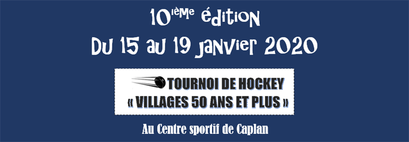 Tournoi de hockey Villages 50 ans et plus